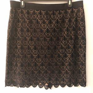 Beautiful skirt lace